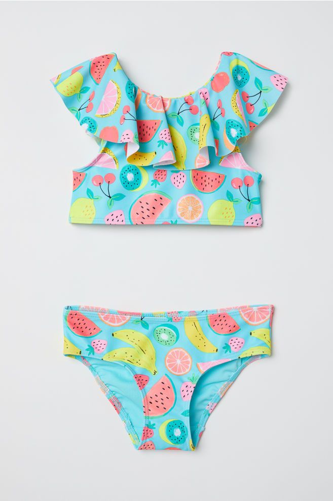 Ruffled Bikini Girls Swimsuits Kids Kids Swimwear Girls Kids