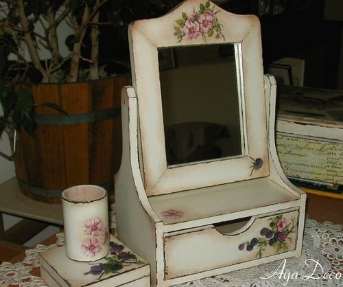 Dressing Table - decoupage | Flickr - Photo Sharing!