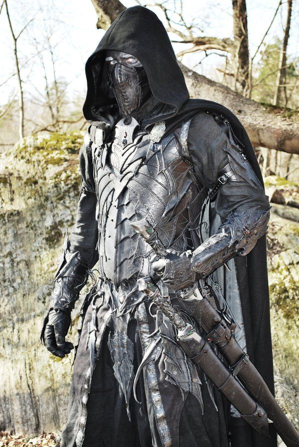 Drow great leather armory