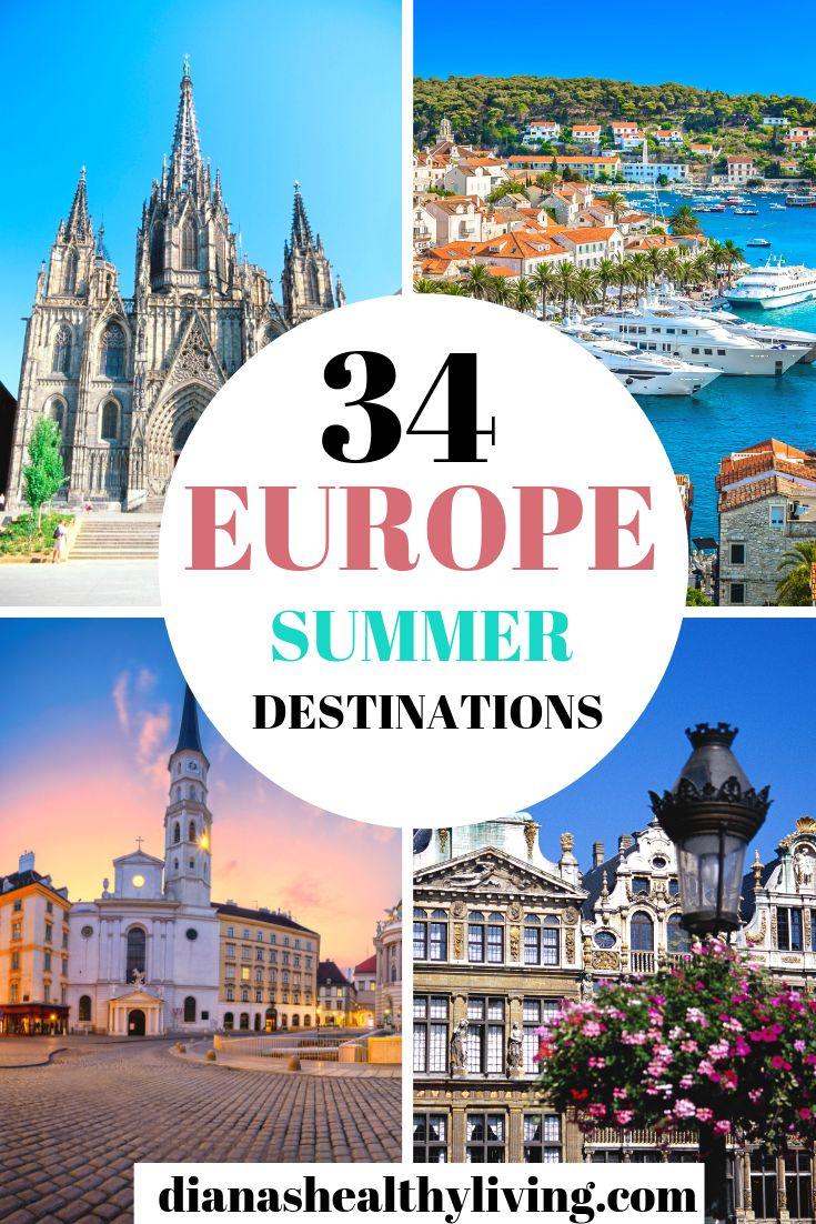 Los mejores destinos de verano de Europa para visitar