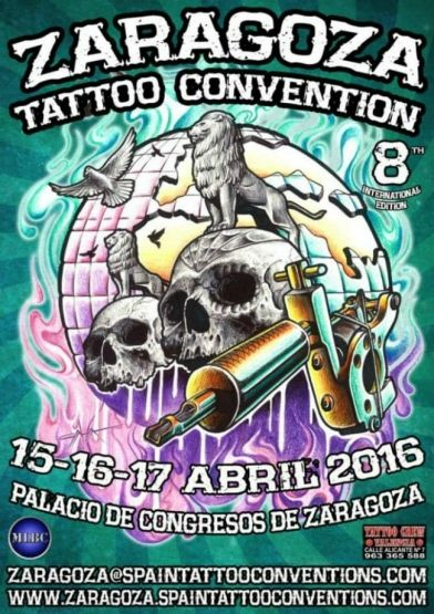 Zaragoza Tattoo Convention 2016