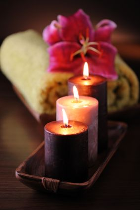 Create your beauty candles