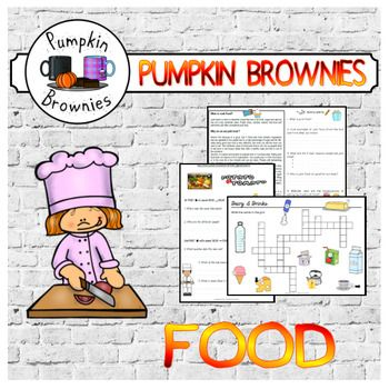 A set of fun activities on food (healthy and junk food)Worksheets come in color and black and white, some have an easier version for kids with difficulties or dyslexia (with a Verdana font for easier reading)Links to videos are included in the worksheets.ORAL COMPREHENSION (videos):- Potato or Tomato with Jamie Oliver- My plate my wins, what's your healthy eating styleGAMES:- 5 crosswords corresponding to the 5 food groups (+ drinks): fruits, vegetables, proteins, grains, dairy/drinks(Keys…