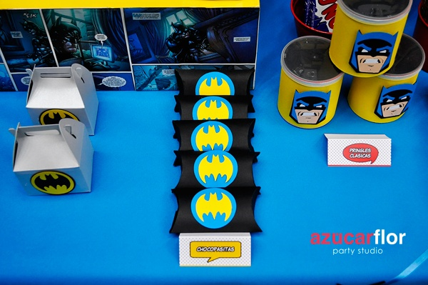 AZUCAR FLOR party studio: BATMAN regresa