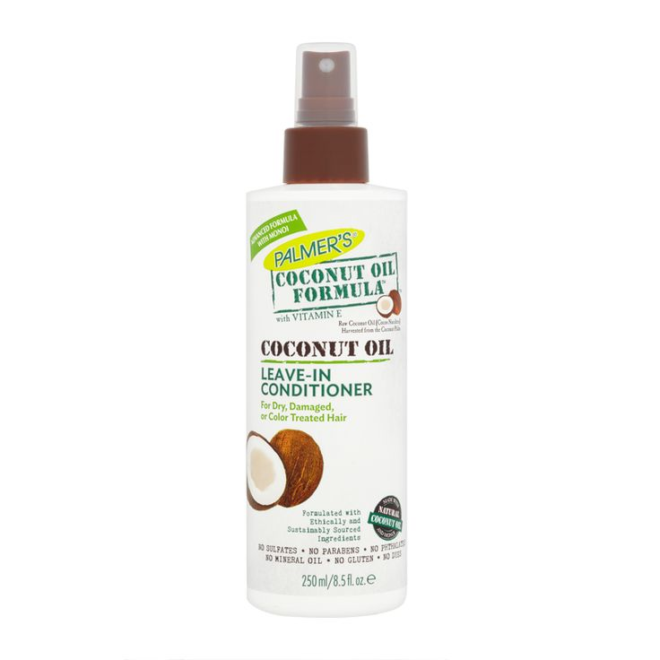 Palmer's Coconut Oil Formula Leave-In Conditioner instantly detangles, putting an end to tugging and pulling at knotty, unruly hair. With a few sprays hair has instant slip and...