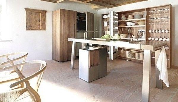 Offene-und-mobile-Küche