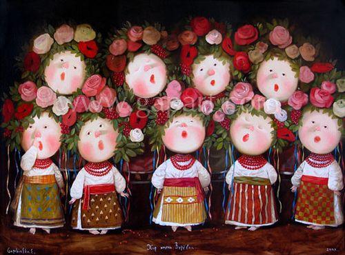 Yevgenia Gapchinska - Ukrainian
