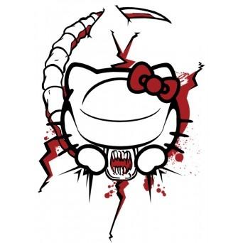 Hello Kitty chestburster   T-shirts based on my peeps ...