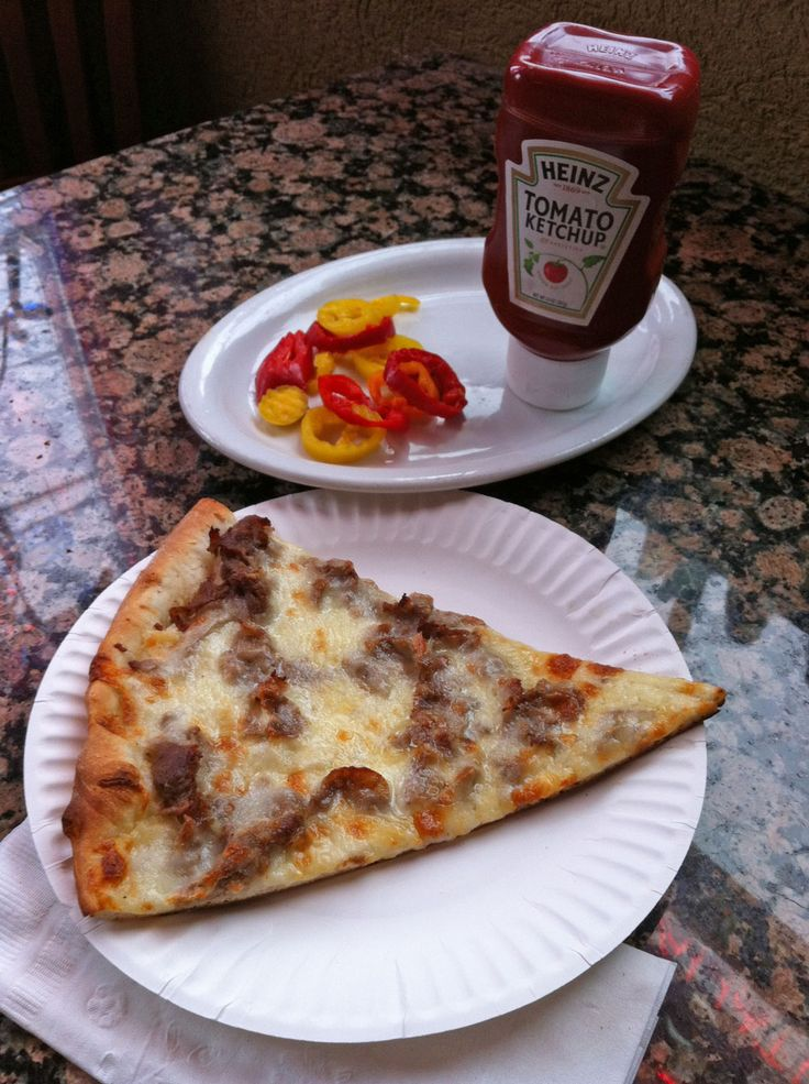 Francoluigi's Cheesesteak Pizza: Sliced cherry peppers punched up the pizza with a puckery heat.