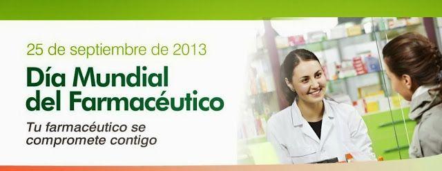 25 Septiembre: Día Mundial del Farmacéutico