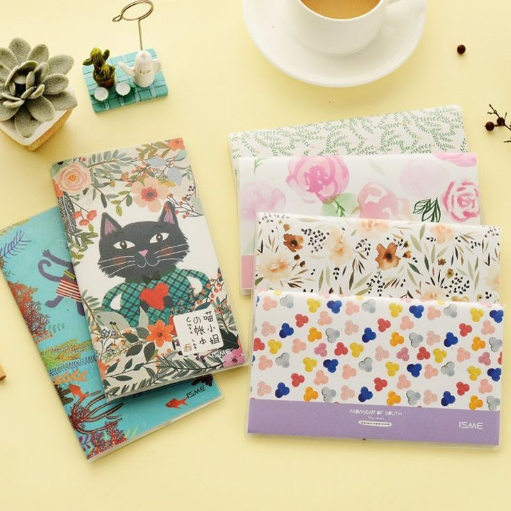 Miss Cat Subsidiary Finance Glue Set Accounting Book Income And Expenses Book The Lazy Cash Flow Diary Hand