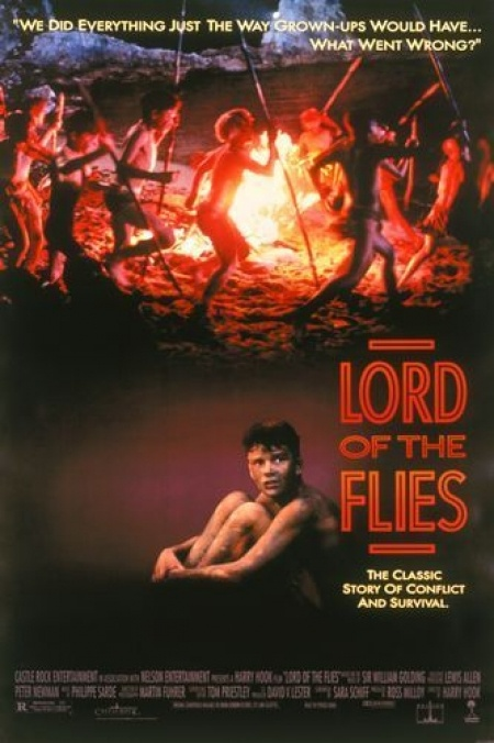 Lord of the flies (1990): Flying Movies, Book Worth, William Gold, 90S Movies, Flying 1990, Movies Poster, Great Movies, Full Movies, High Schools