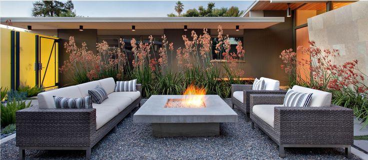 Bernard Trainor Design, Concrete Fire Table