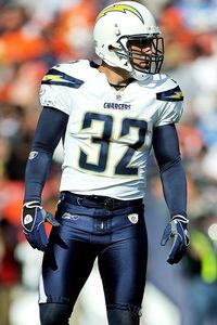 #32 Best safety in the NFL, Eric Weddle
