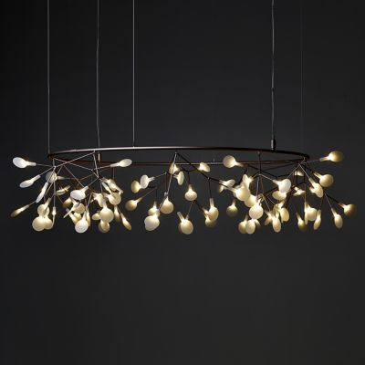 Heracleum Small Big O LED Chandelier by Moooi