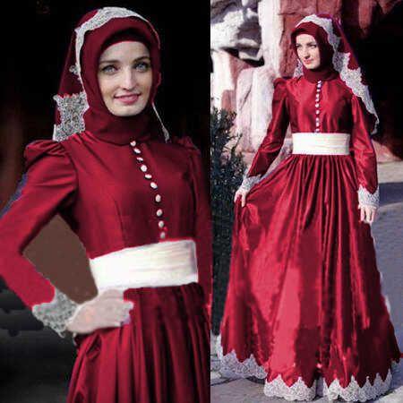 Beli Busana Satin Melisa Hijab Rdb.135 Unik - http://www.butikjingga.com/busana-satin-melisa-hijab-rdb-135