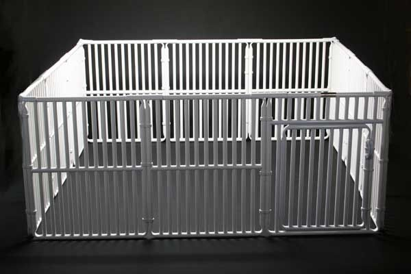This Can T Be That Hard To Make Pvc Pipe Dog Playpen