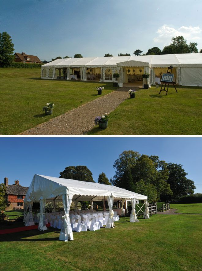 Brewerstreet Farmhouse, a marquee wedding and reception venue in Surrey | Visit wedding-venues.co.uk