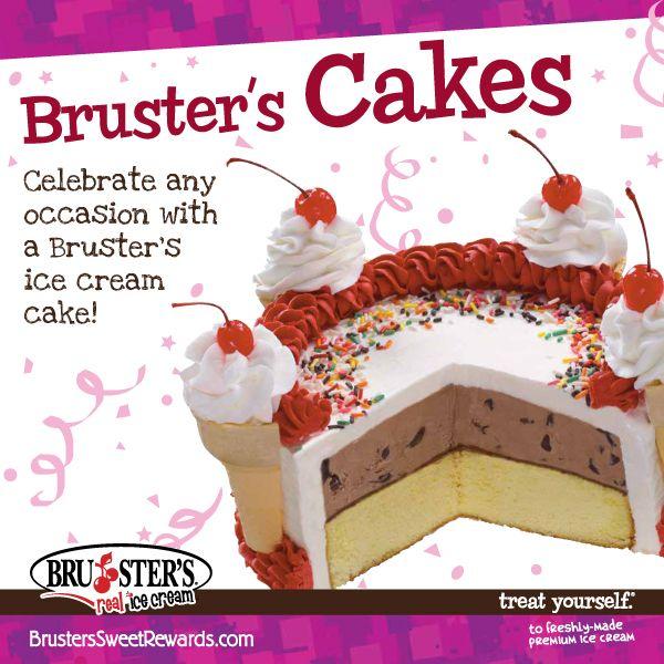 Best Brusters Ice Cream Cake