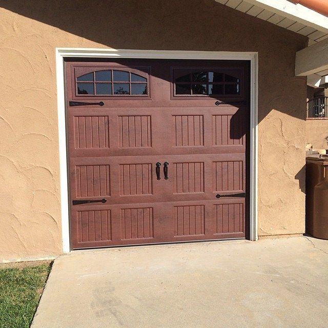 30 best garage doors faux wood finish images on for Faux wood finish garage door
