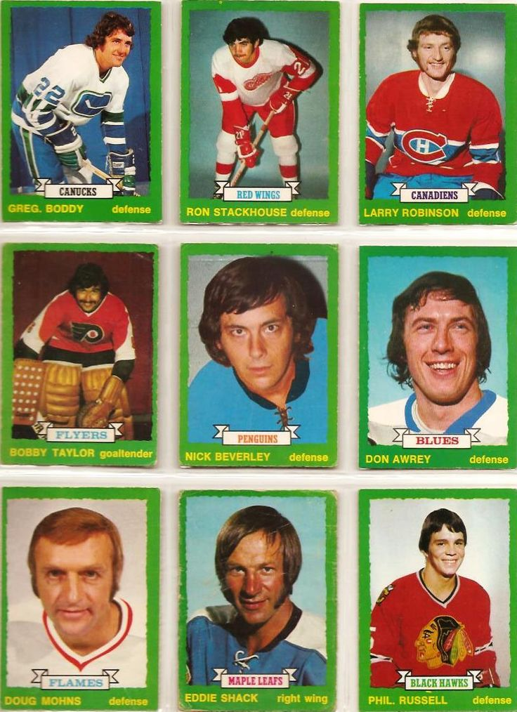235-243 Greg Boddy, Ron Stackhouse, Larry Robinson (R), Bobby Taylor, Nick Beverly, Don Awry, Doug Mohns, Eddie Shack, Phil Russell (R)