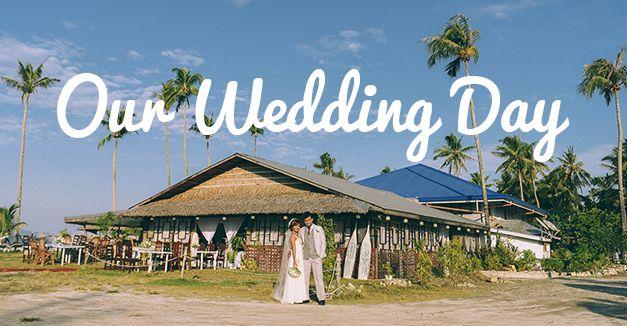 A beautiful Wedding Day - Villa Gertrudes Surigao City