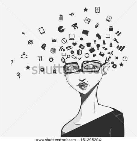 social network face by Beatriz Gascon J, via Shutterstock
