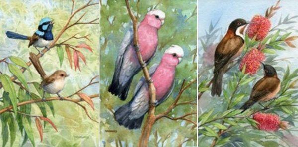 Original Art – Medium Watercolours. Rhonda's Art is a collection of original watercolour, mixed media and silk paintings by Gosford artist Rhonda N. Garward.
