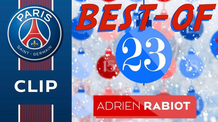 Adrien Rabiot vous souhaite de joyeuses fêtes dans ce vingt-troisième épisode du #PSGchristmasCalendar !