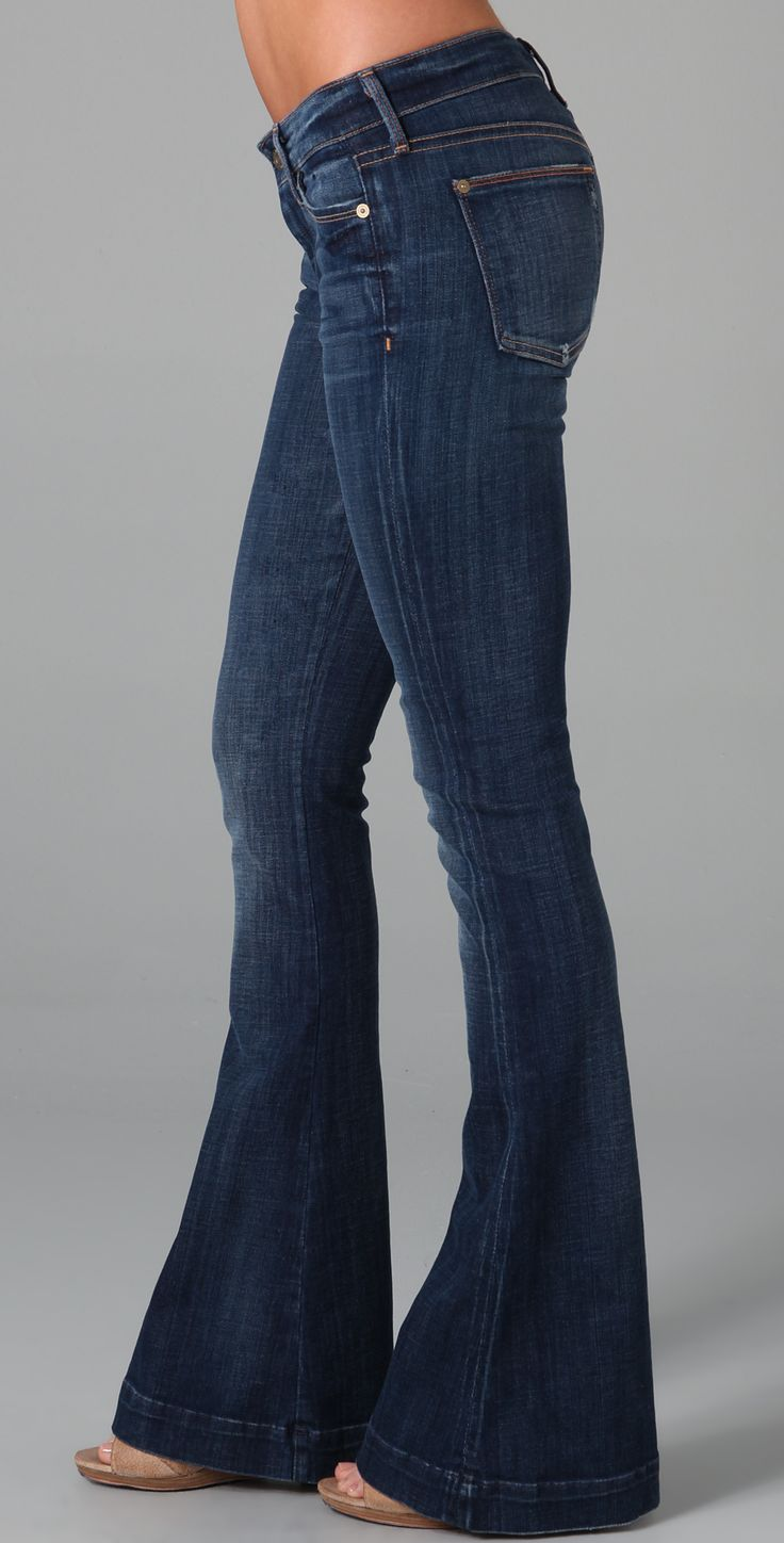 7 For All Mankind The Jiselle Flare Jeans | SHOPBOP