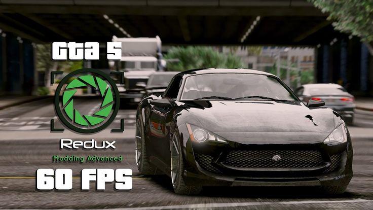 GTA 5 I REDUX – Ultra Realistic Graphics ENB Mod PC – 60 FPS