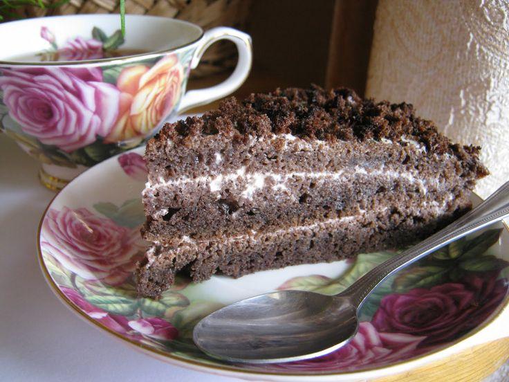 Черемуховый торт воздушный