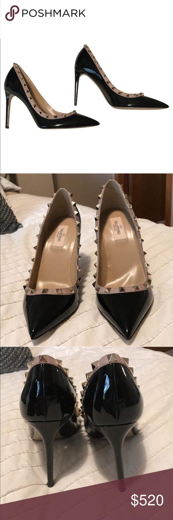 Valentino Rockstud Heels Never worn. 2 sharpie marks on soles. Valentino Shoes Heels