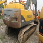 Used VOLVO excavators EC240B in Shanghai Jiangchun is provided in a competitive price and selective choice for...