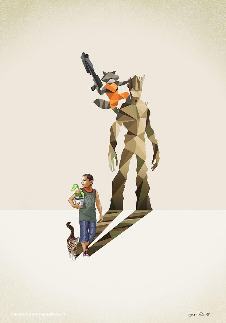 de-nouveaux-dessins-d-enfants-avec-des-ombres-super-hero-par-jason-ratliff-11-gardiens-de-la-galaxie