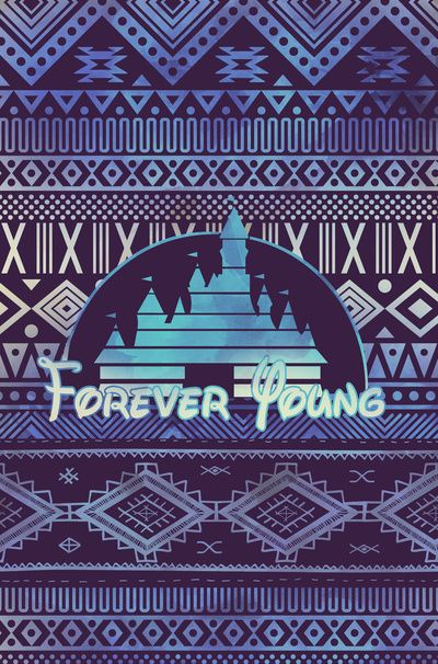 forever young Art Print