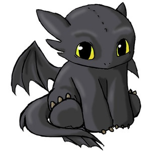 Toothless: The shape of dragons.