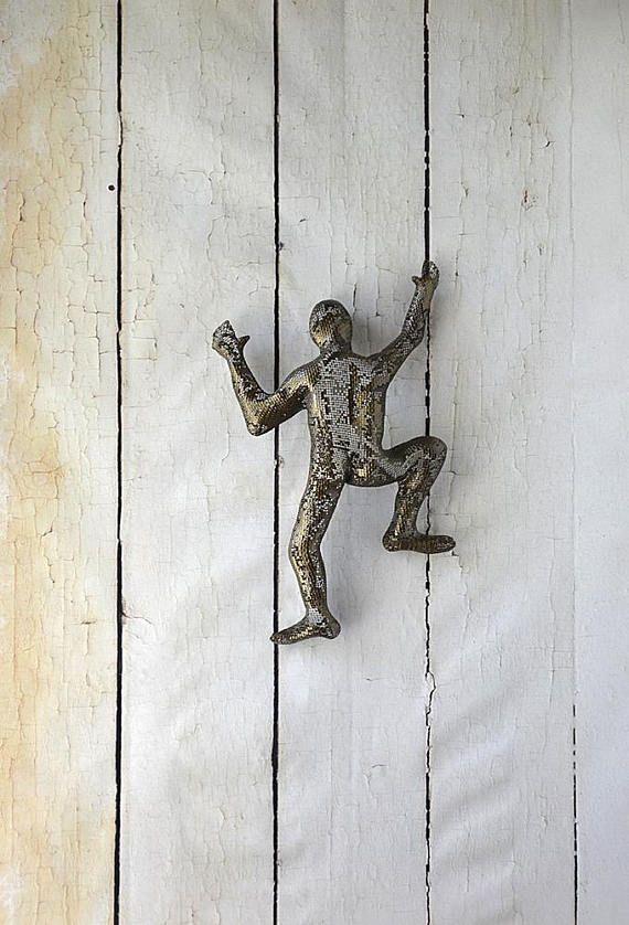 Arte de pared de Metal abstracto escultura escultura de