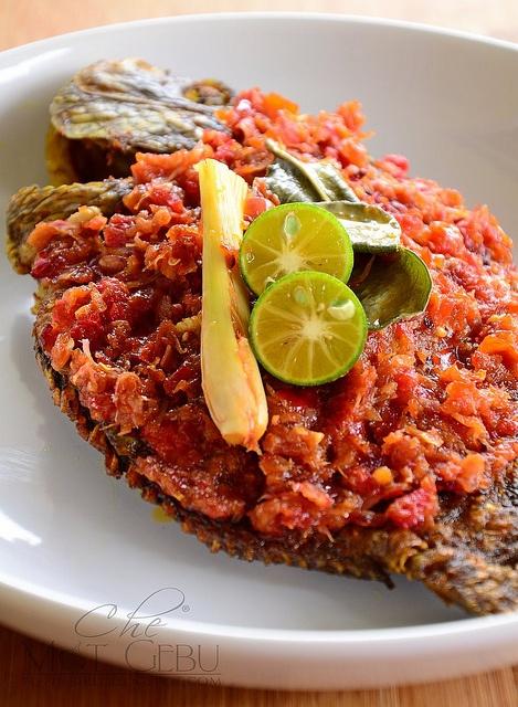 sambal ikan