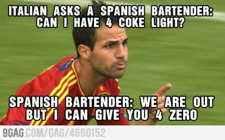 Jokes on you Italy.. from Spain.. sorry Azzurri.