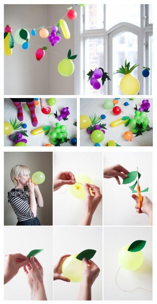 DIY Simple Balloon Decoration