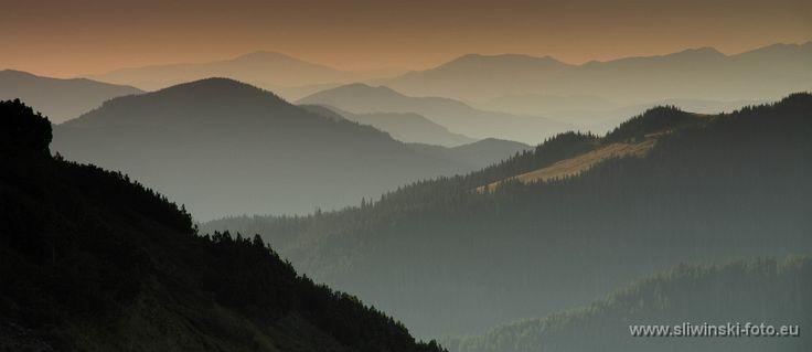 The Calimani Mountains, Romania.