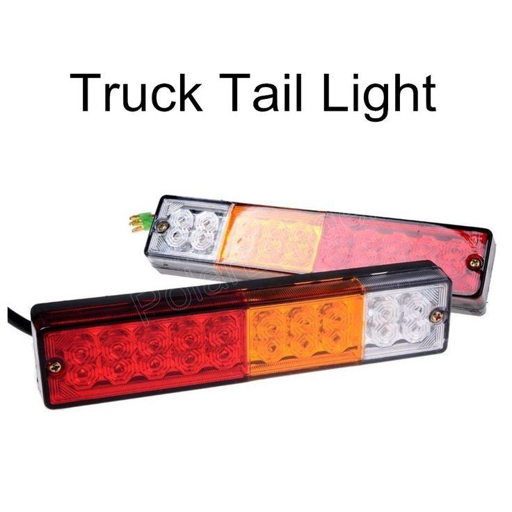 $28.10 (Buy here: https://alitems.com/g/1e8d114494ebda23ff8b16525dc3e8/?i=5&ulp=https%3A%2F%2Fwww.aliexpress.com%2Fitem%2F2PCS-lot-20-LED-ATV-car-tail-light-truck-trailer-modified-to-stop-signal-modified-tail%2F32694426304.html ) 2PCS/lot 20 LED ATV car tail light truck trailer modified to stop signal modified tail light white red amber color new arrival for just $28.10