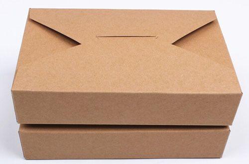 40 pcs/lot 19,5 * 12,5 * 4 см 350 g крафт-бумага печенье упаковка коробка, Торт упаковка коробка