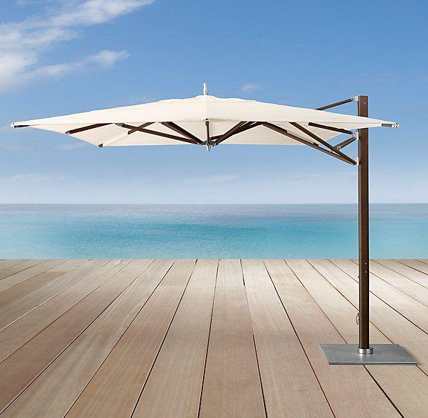 13 39 tuuci ocean master max cantilever square java for Restoration hardware outdoor umbrellas