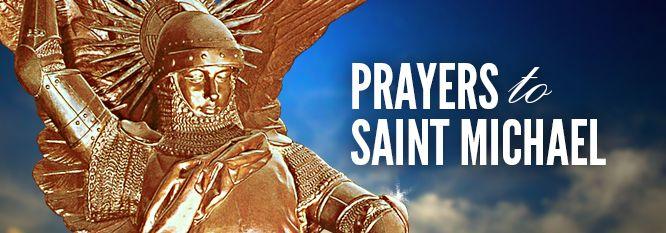 Prayers to St. Michael (Feast: September 29) | The Saints | Prayers and Novenas