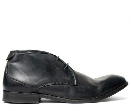 Cruise Calf Black Chukka Boot
