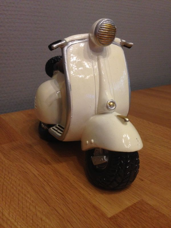 scooter spaarpot kleur wit