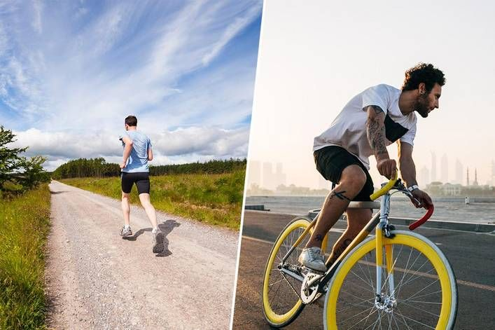Best Form Of Cardio Running Or Biking Bike Rides Photography