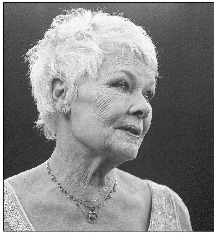 Judy Dench (a lasting impression: Four in the Morning, 84 Charing Cross Road, Mrs Brown, Tea with Mussolini, Ladies in Lavender., Mrs Henderson Presents, Notes on a Scandal, The Best Exotic Marigold Hotel...)